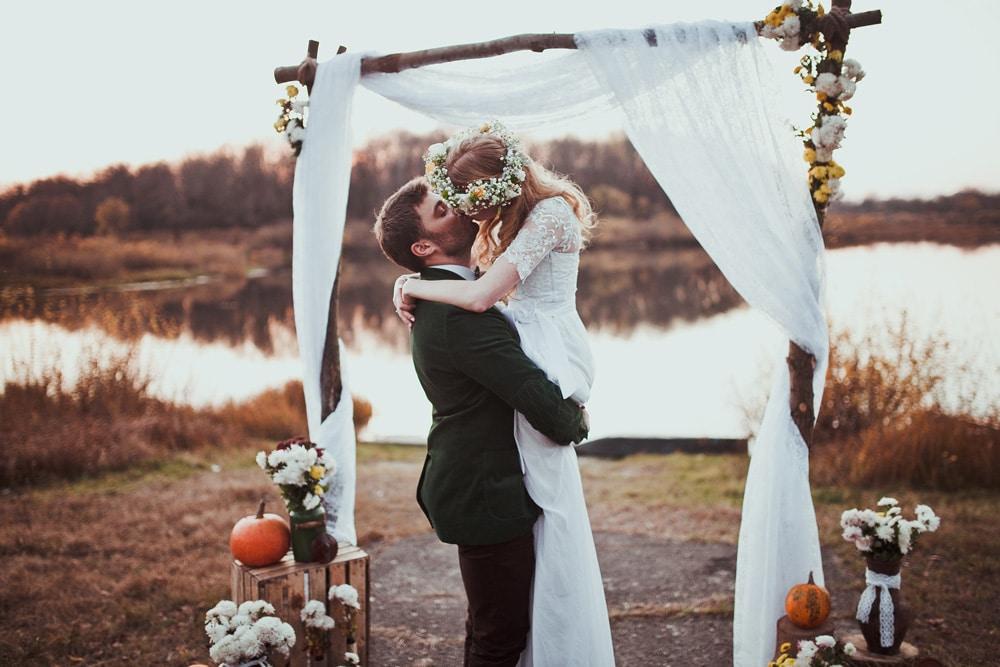 Arche mariage en bois