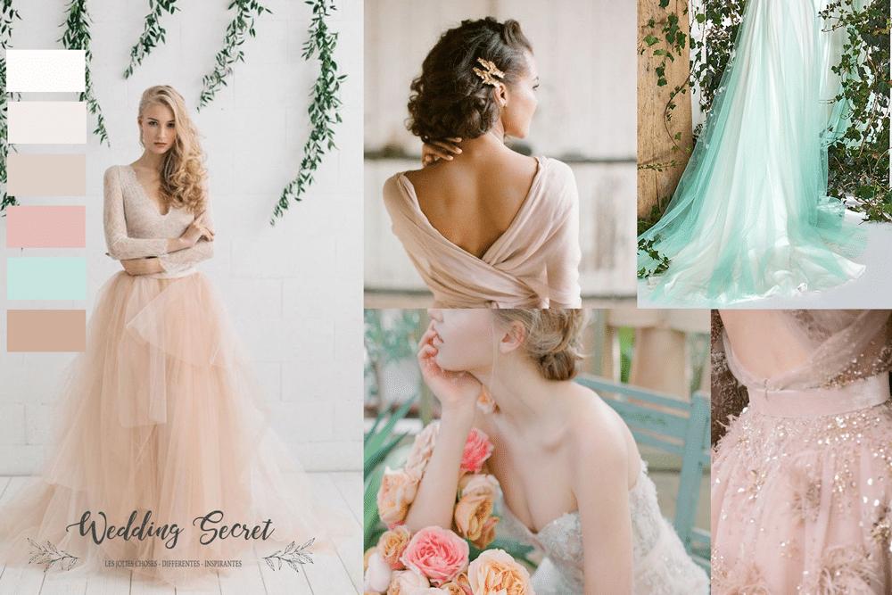 1bec8318034 Quelle couleur choisir pour ma robe de mariée