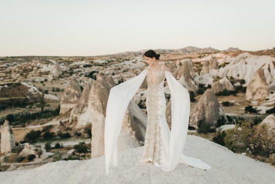 robe de mariee elisa ness plumes