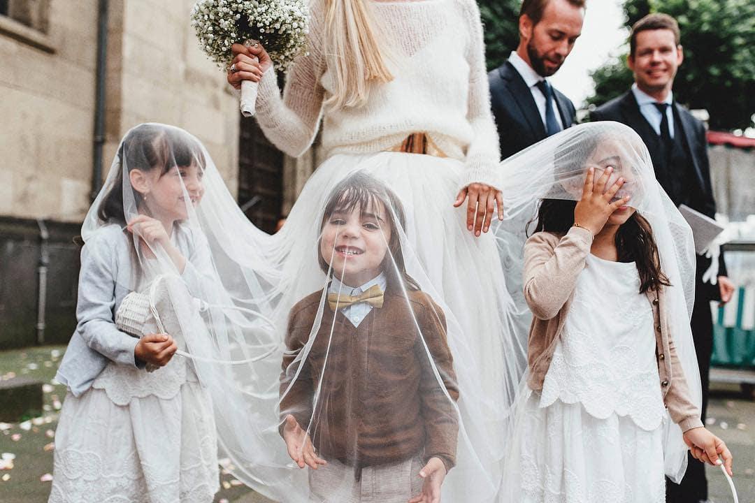 enfants d'honneur mariage