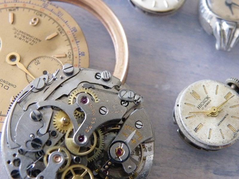 Mécanisme monter antique