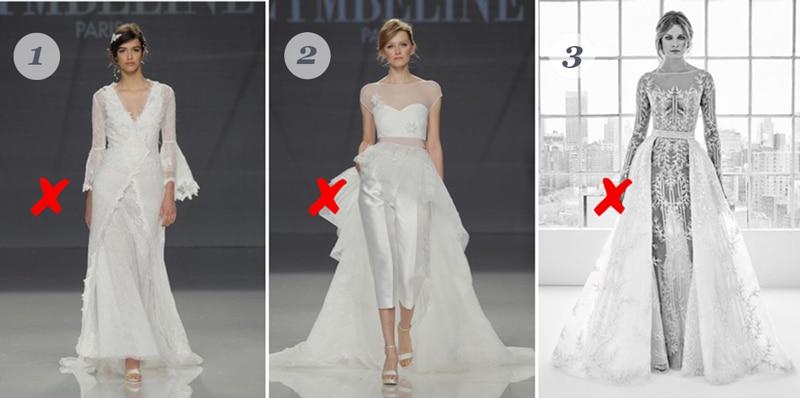 conseils morphologiques pour robe de mariée avec silhouette en A