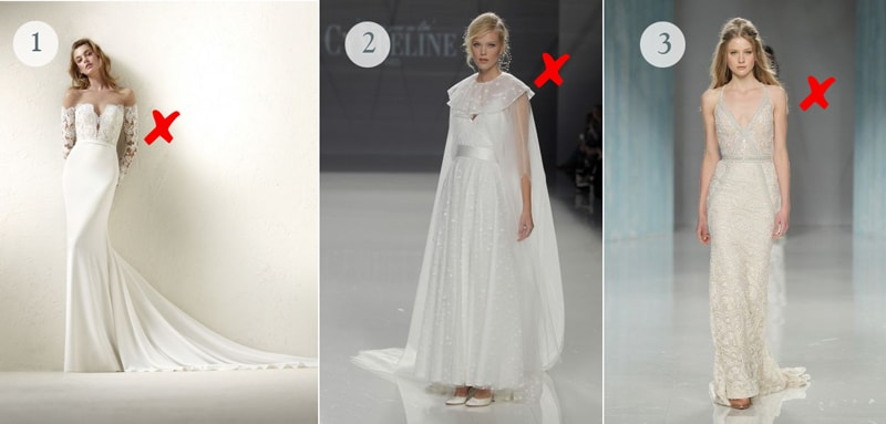 55a8b4bfd4d814 Quelle robe de mariée pour une morphologie en V ? | Wedding Secret
