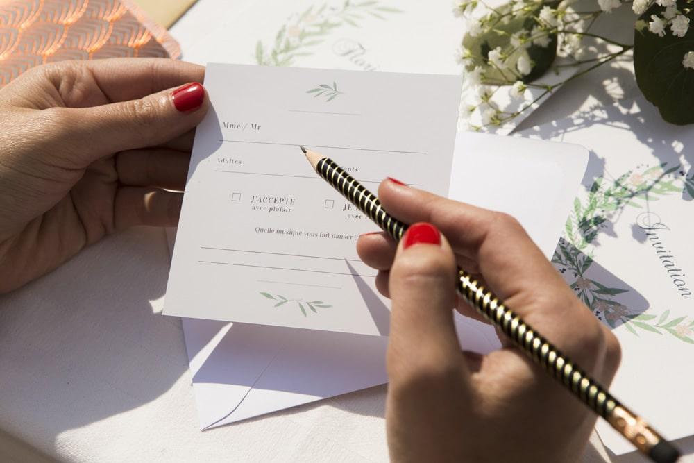 carton reponse mariage rsvp
