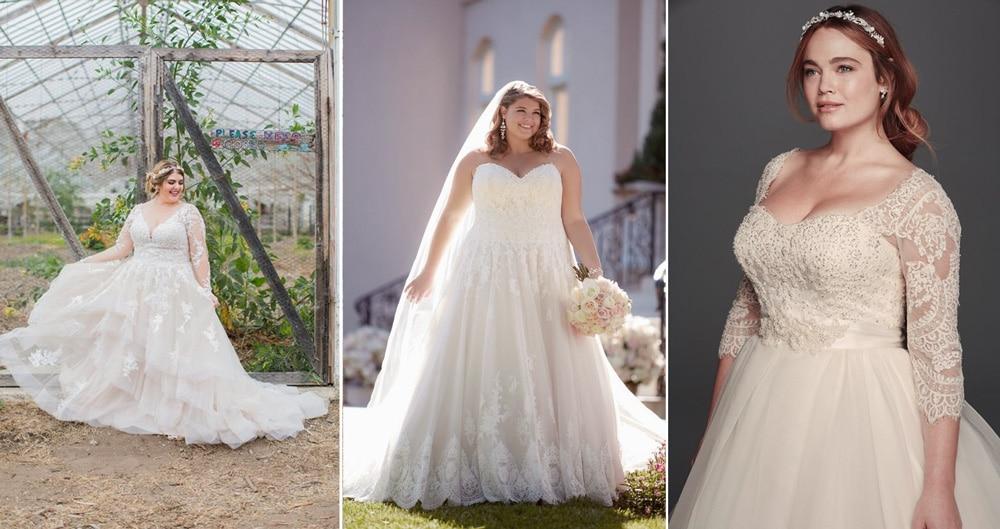 Quelle Robe De Mariee Choisir Pour Femme Ronde Wedding