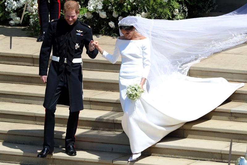 Meghan Markle chaussures de mariage