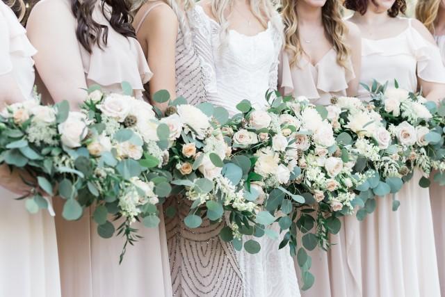 theme de mariage rose poudre et vert