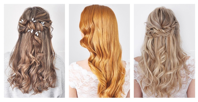 Idee coiffure mariage cheveux detaches