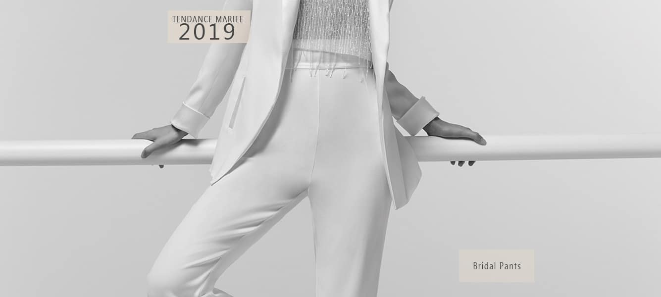 pantalon de mariée smocking 2019