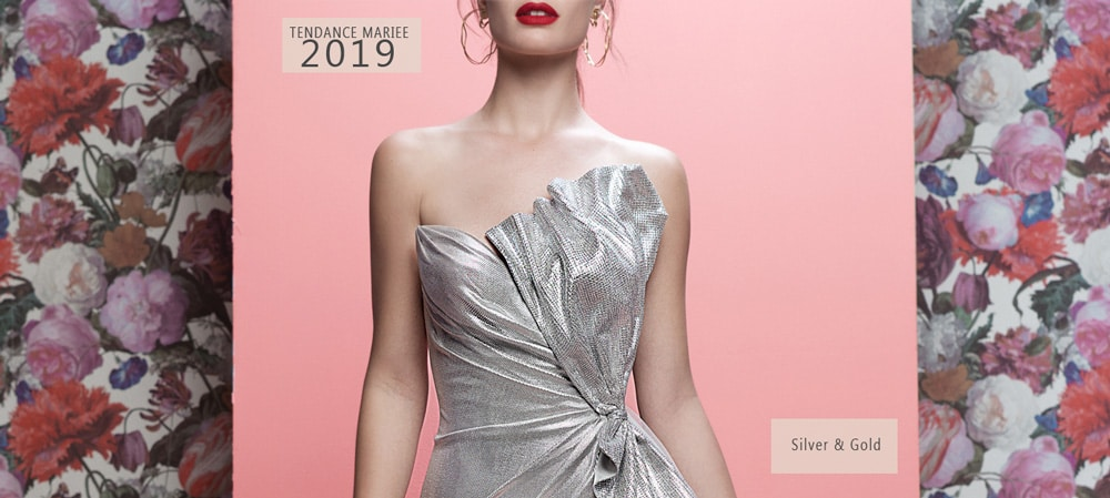 robe de mariee argent galia lahav 2019