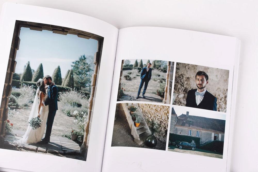 album de photos de mariage atelier rosemood