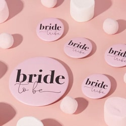 badge bride evjf