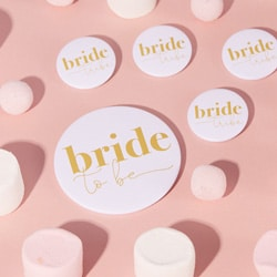 D badge bride to be or