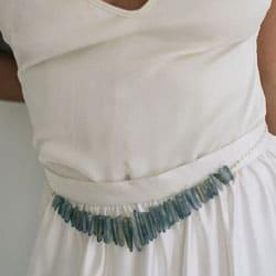 a ceinture de mariee quartz