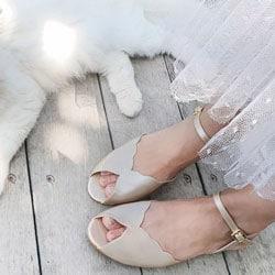 b chaussure de mariage plate