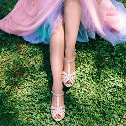 chaussure de mariee basses