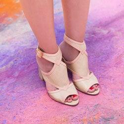 chaussure de mariee cuir
