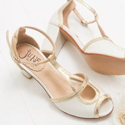 chaussure vintage de mariee