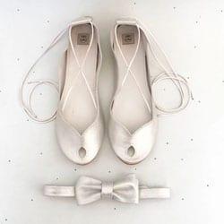 chaussures ballerine pour mariee
