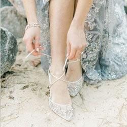 b chaussures de mariee cendrillon