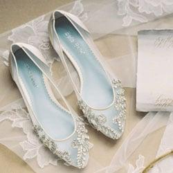 chaussures de mariee en perles