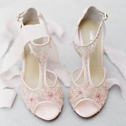 chaussures hautes mariage