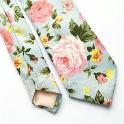 cravate all over fleurs