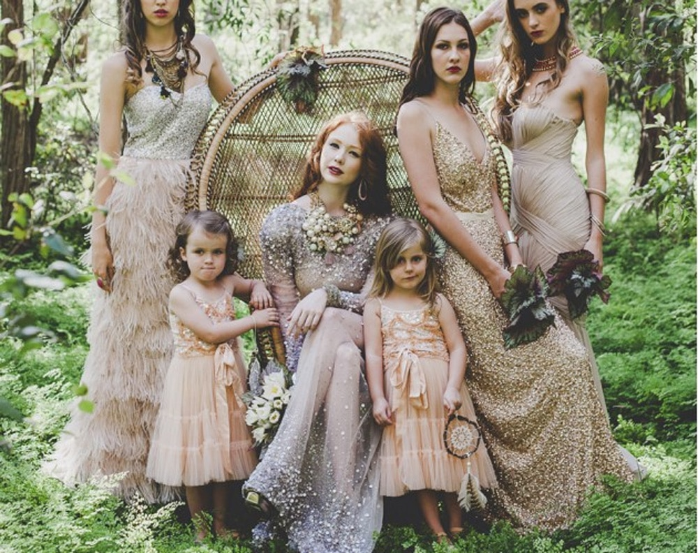 dress code mariage boheme luxe