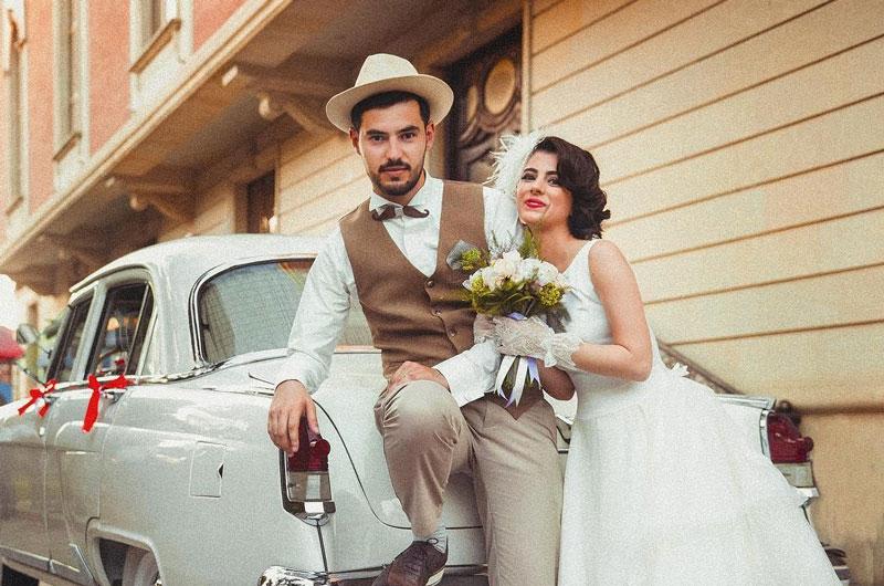 dress code mariage retro