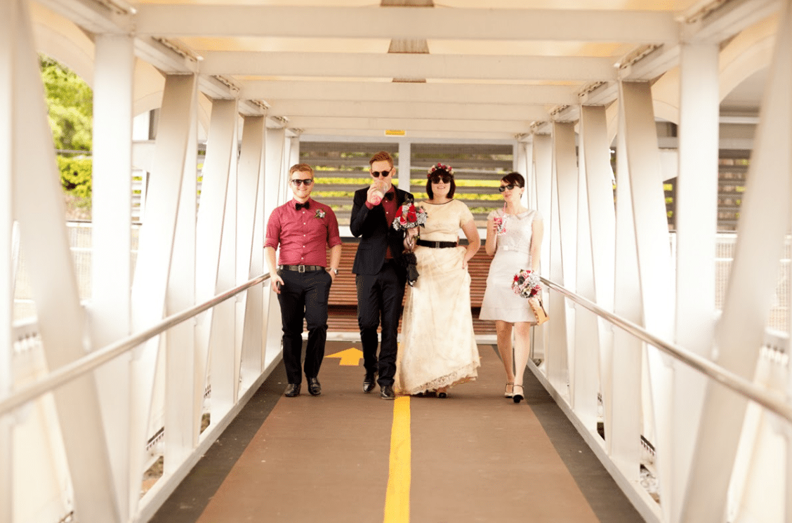 dress code mariage rock