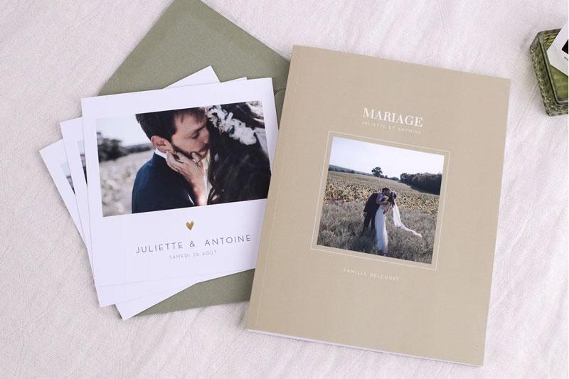 livre photo de mariage atelier rosemood