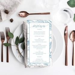 b menu mariage