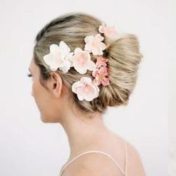 f pinces fleurs mariage