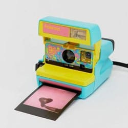 polaroid fun bleu