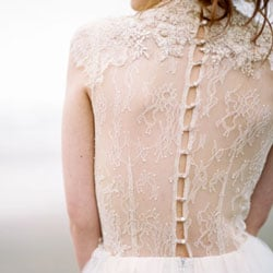 a robe de marie dos dentelle