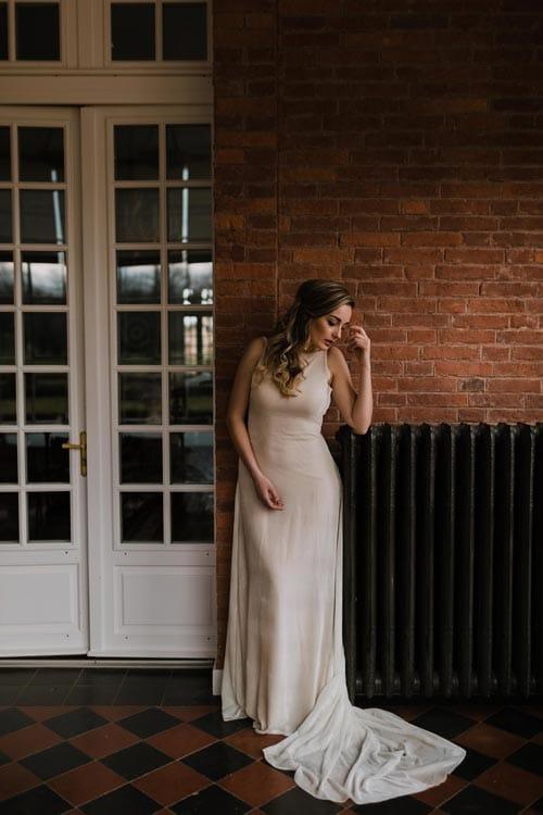 robe de mariee longue 2019 aurelie mey
