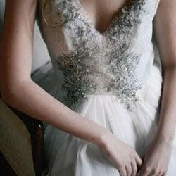 robe de mariee argent