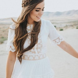 robe de mariee dentelle boheme