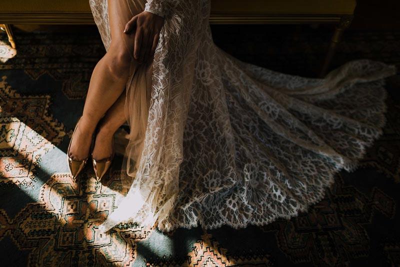 robe de mariee dentelle fine aurelie mey