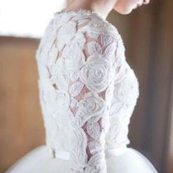 robe de mariee dentelle g