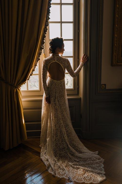 inspiration mariage 2019 robe de mariee aurelie mey