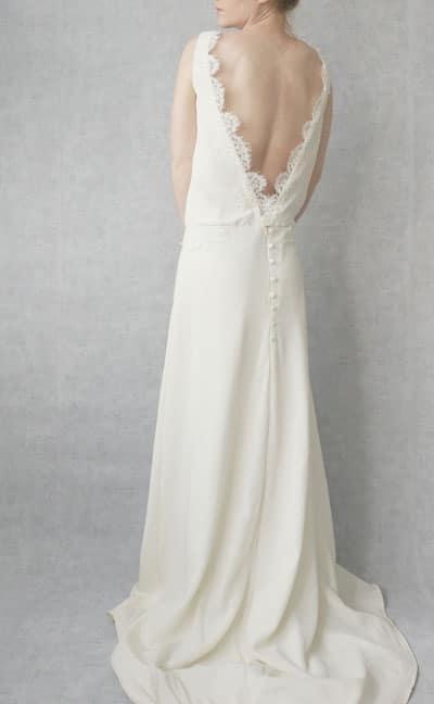 robe de mariee dos nu dentelle 209