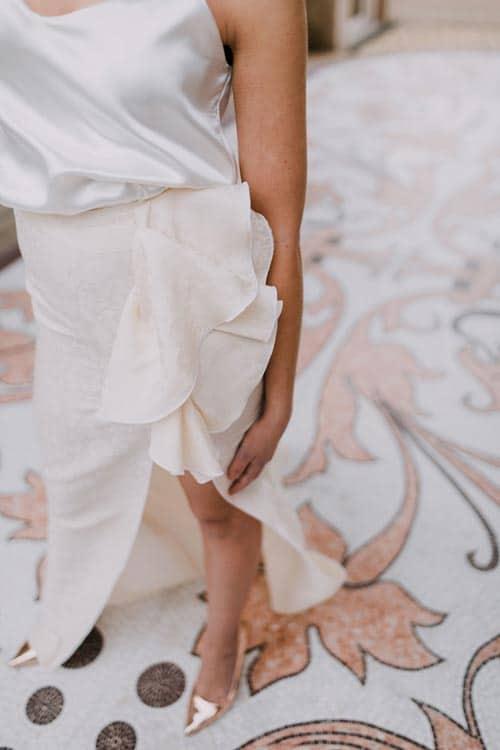 robe de mariee avec fente mariage 2019 aurelie mey