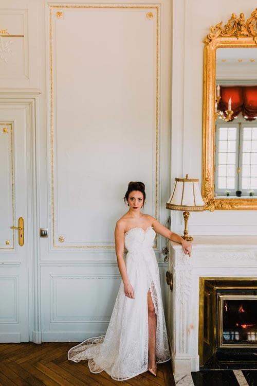 robe de mariee fendue mariage 2019 aurelie mey