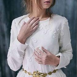 d robe de mariee macrame