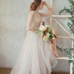robe de mariee nude