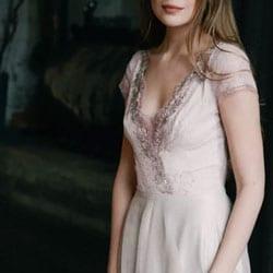 g robe de mariee rose poudre
