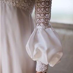 a robe de mariee vintage