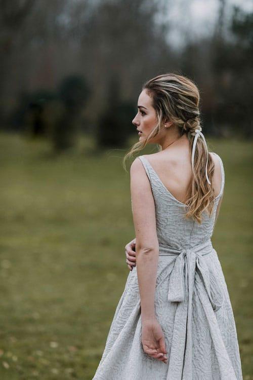 robe de mariee en brocart aurelie mey
