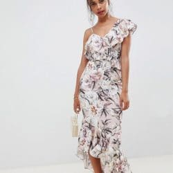 robe grosse fleurs mariage champetre